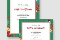 Indesign Gift Certificate Template 8