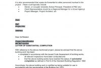 Jct Practical Completion Certificate Template 6