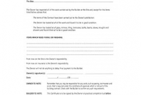 Jct Practical Completion Certificate Template 7