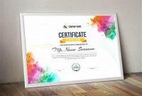 Landscape Certificate Templates 11
