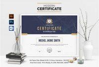 Landscape Certificate Templates 2