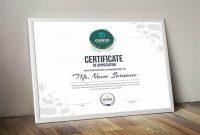 Landscape Certificate Templates 3