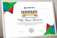 Landscape Certificate Templates 4
