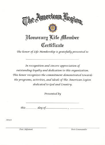 Life Membership Certificate Templates 12