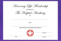Life Membership Certificate Templates 7