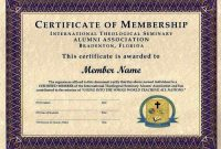 Life Membership Certificate Templates 8