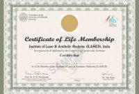 Life Membership Certificate Templates 9