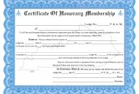 Membership Certificate Template Llc New Church Member Word Brochure throughout Honorary Membership Certificate Sample
