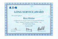 Long Service Certificate Template Sample 8