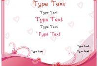 Love Certificate Templates 4