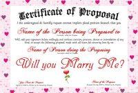 Love Certificate Templates 5