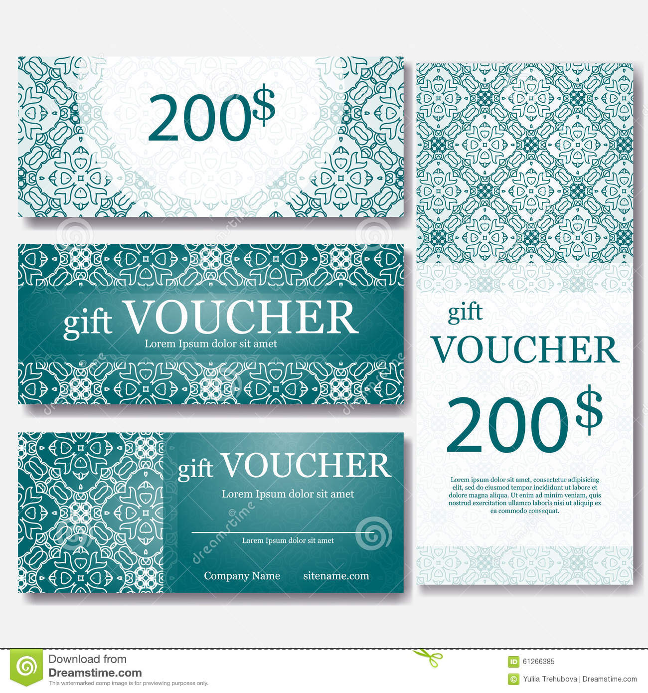 Magazine Subscription Gift Certificate Template 10