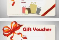 Magazine Subscription Gift Certificate Template 4