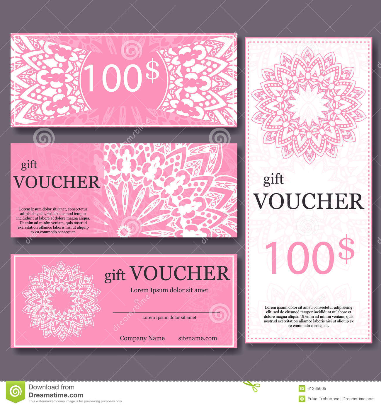 Magazine Subscription Gift Certificate Template 9