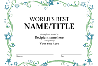 Microsoft Office Certificate Templates Free 5