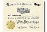 Mock Certificate Template 12