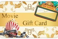 Movie Gift Certificate Template 10