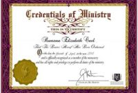 Ordination Certificate Templates 3