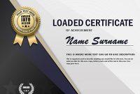 Powerpoint Award Certificate Template 10