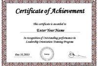 Powerpoint Award Certificate Template 2