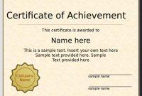 Powerpoint Award Certificate Template 3
