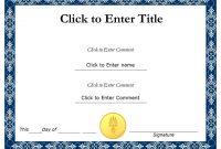 Powerpoint Award Certificate Template 4