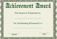 Powerpoint Award Certificate Template 9