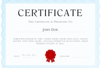 Powerpoint Certificate Templates Free Download 6