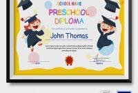 Preschool Graduation Certificate Template Free 4