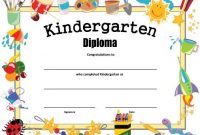Preschool Graduation Certificate Template Free 6