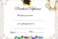 Preschool Graduation Certificate Template Free 8