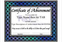 Professional Certificate Templates for Word 4