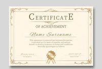 Qualification Certificate Template 5