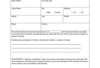 Rabies Vaccine Certificate Template 5