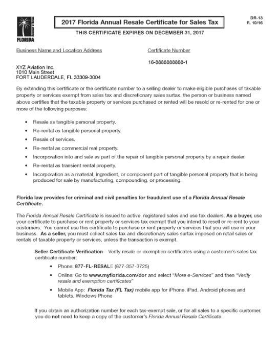 Resale Certificate Request Letter Template 6