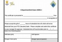 Safety Recognition Certificate Template 2