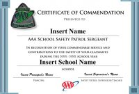 Safety Recognition Certificate Template 4