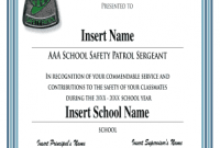 Safety Recognition Certificate Template 8