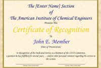 Sample Appreciation Certificates Templates