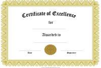 Sample Award Certificates Templates 3