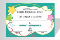 School Certificate Templates Free 3