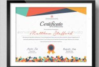 School Certificate Templates Free 4