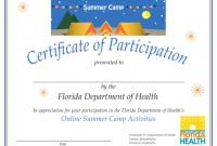 Summer Camp Certificate Template 11