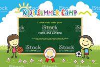 Summer Camp Certificate Template 9