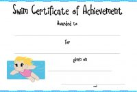 Swimming Certificate Templates Free 14