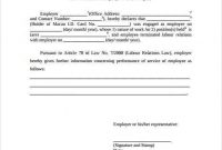 Template Of Certificate Of Employment 11