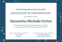 Templates for Certificates Of Participation 7