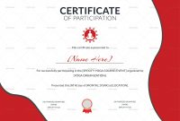 Templates for Certificates Of Participation 8