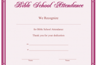 Vbs Certificate Template 12