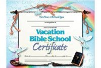 Vbs Certificate Template 2